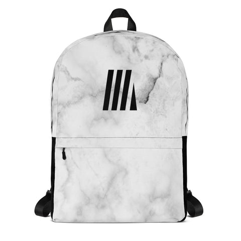 Active Marble White Backpack
