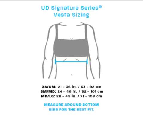 Ultimate Direction Trail Hydration Pack Sizing