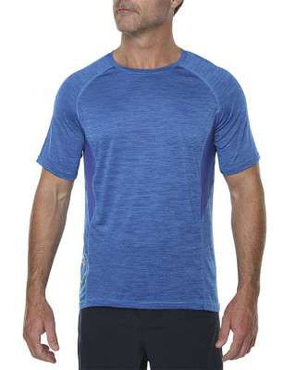 Vigilante Mens Hellenic Tee-Blue Mountains Running Company