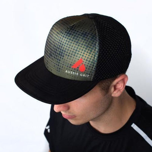 Aussie Grit Trucker Hat Multi