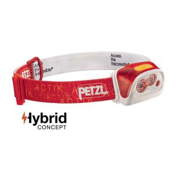 Petzl Headlamp Actik Core - 450 Lumens- Red