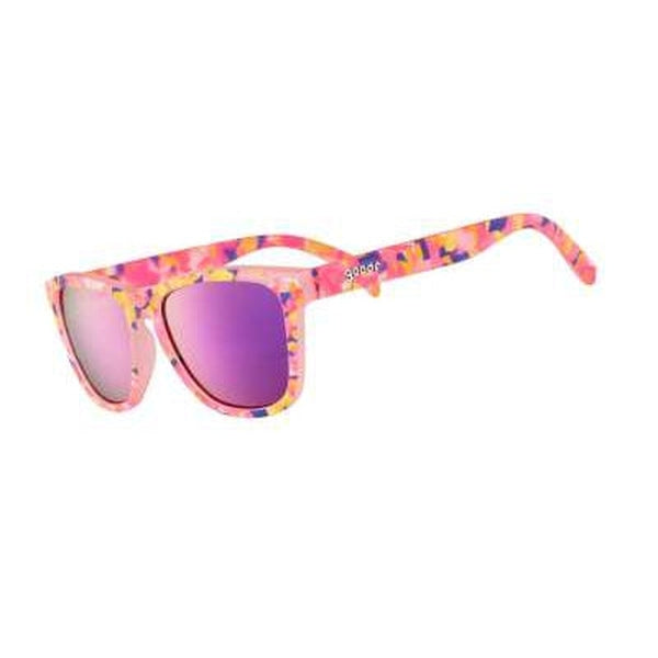 Goodr Sunglasses Cosmic Crystals Flamingo-ite Aura Right