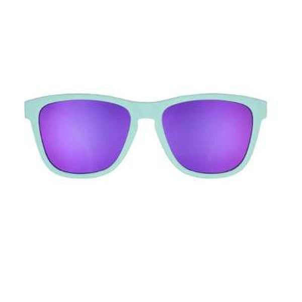 Goodr Sunglasses Electronic Dinotopia Carnival-Blue Mountains Running Company