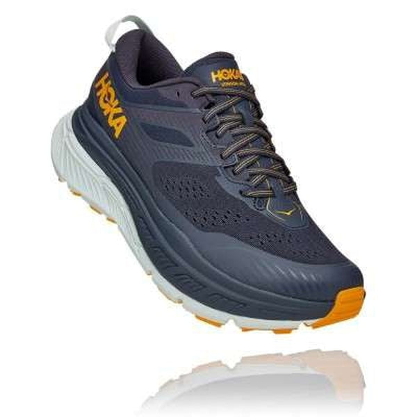 Hoka One One Mens Shoe Stinson ATR 6 Ombre Blue Saffron