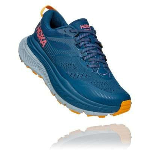 Hoka One One Womens Shoe Stinson ATR 6 Moroccan Blue-Blue Mountains Running Company