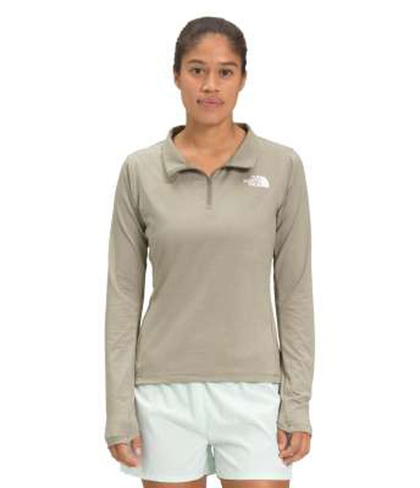 The North Face Womens Long Sleeve Half Zip Top Riseway