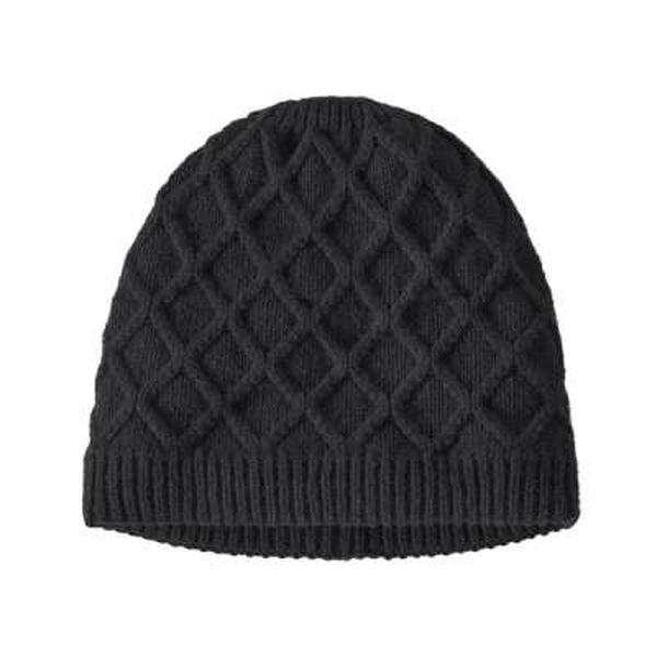 Patagonia Womens Honeycomb Knit Beanie Black