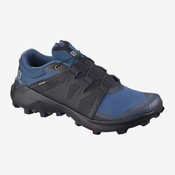 Salomon Mens Shoe Wildcross-Blue Mountains Running Company