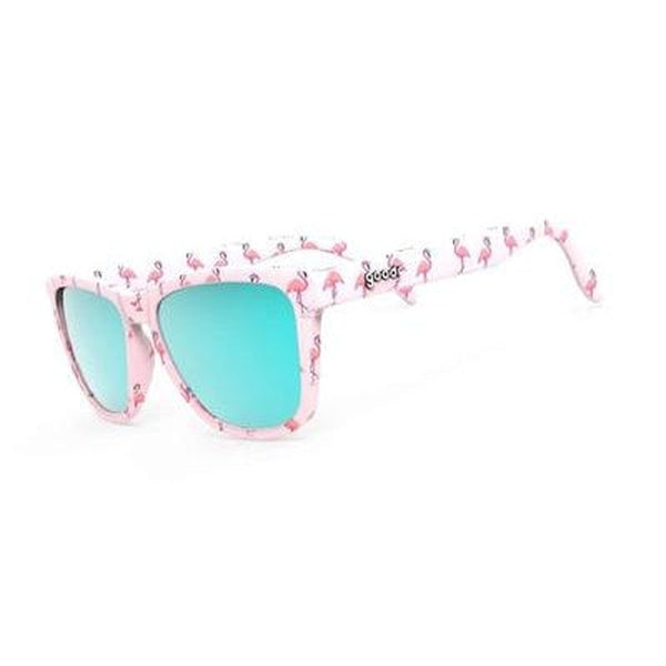 Goodr OG Sunglasses Carls Single and Ready to Flamingle-Blue Mountains Running Company