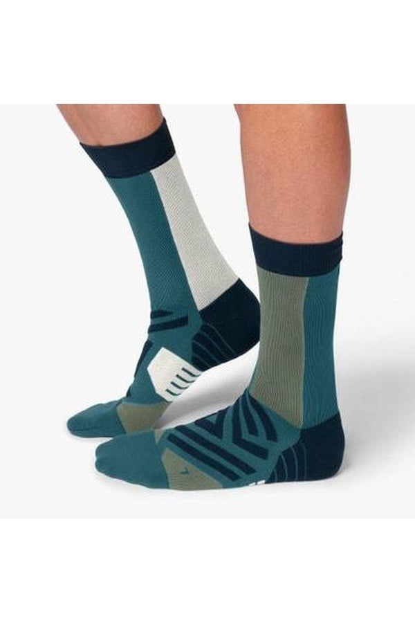 On Running Mens High Sock-Blue Mountains Running Company