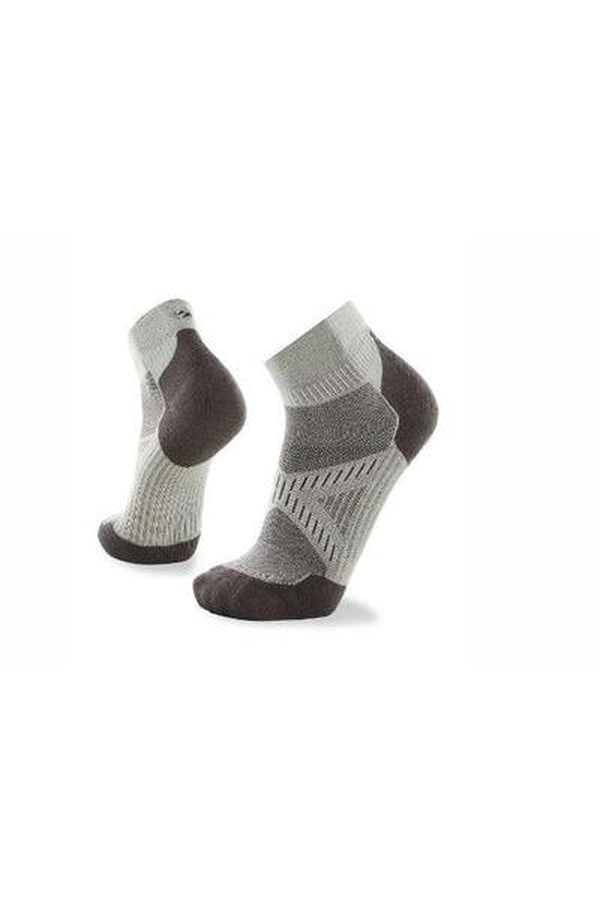 LeBent Unisex Sock - Micro Gray-Blue Mountains Running Company