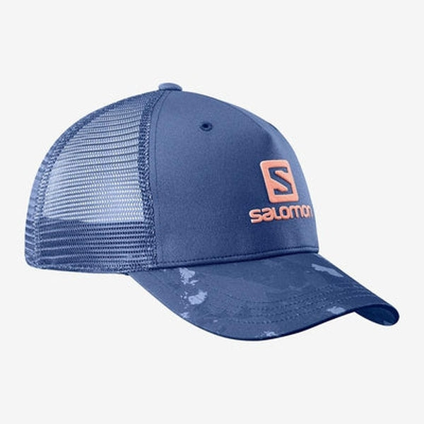 Salomon Cap Mantra Logo-Blue Mountains Running Company