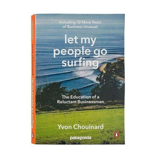 Patagonia Book Let My People Go Surfing-Blue Mountains Running Company