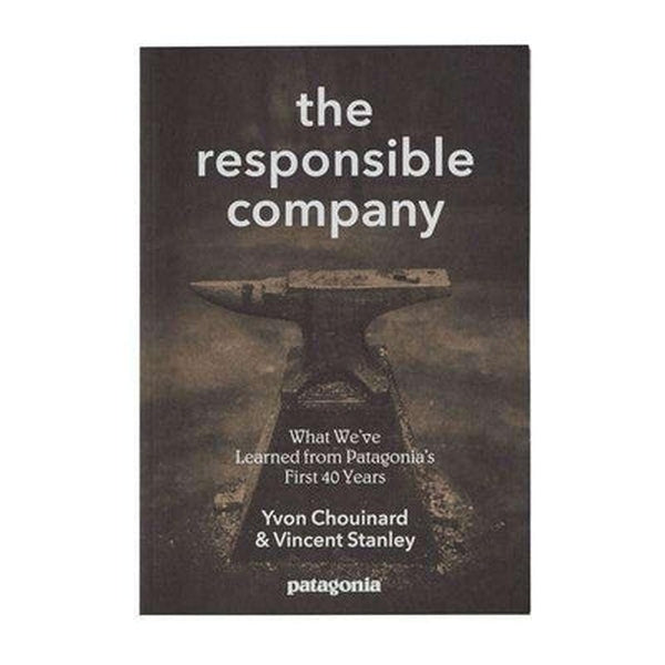 Patagonia Book The Responsible Company-Blue Mountains Running Company