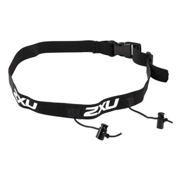 2XU Racebelt - Black-Blue Mountains Running Company
