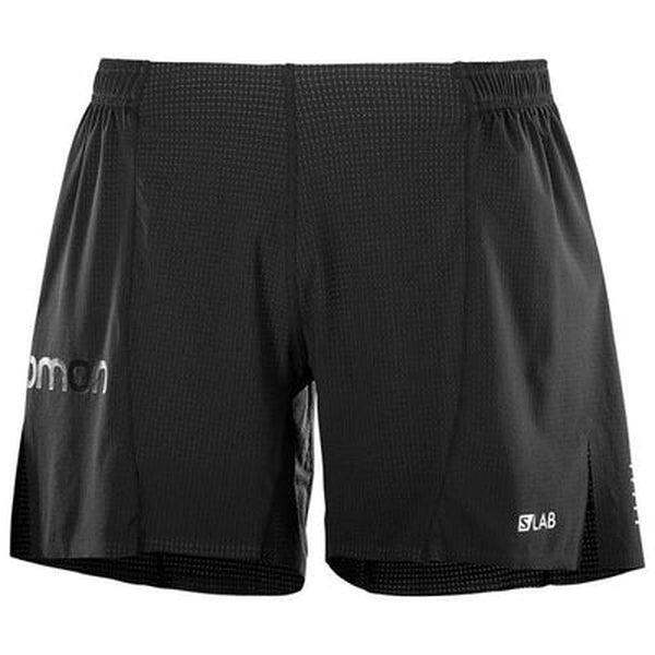 Salomon Mens Shorts S-Lab-Blue Mountains Running Company