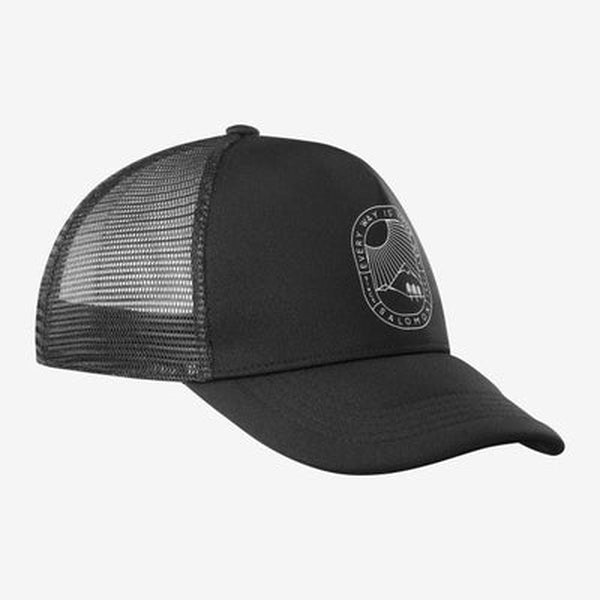 Salomon Cap Summer Logo-Blue Mountains Running Company