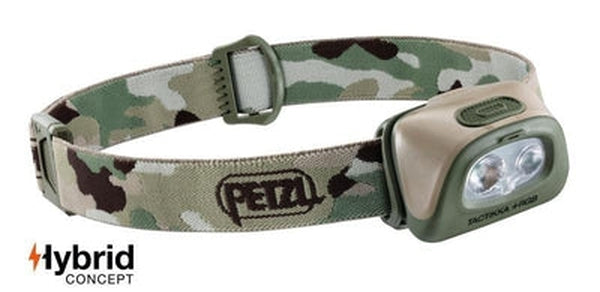 Petzl Headlamp Tactikka +RGB - 250 Lumens-Blue Mountains Running Company