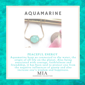 Aquamarine Crystal Birthday Gift | March Birthstone