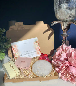 Blue Sapphire Pamper Hamper | Happy Birthday Gift Box Filled