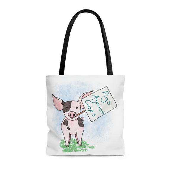 Pigs Against Cops tote bag