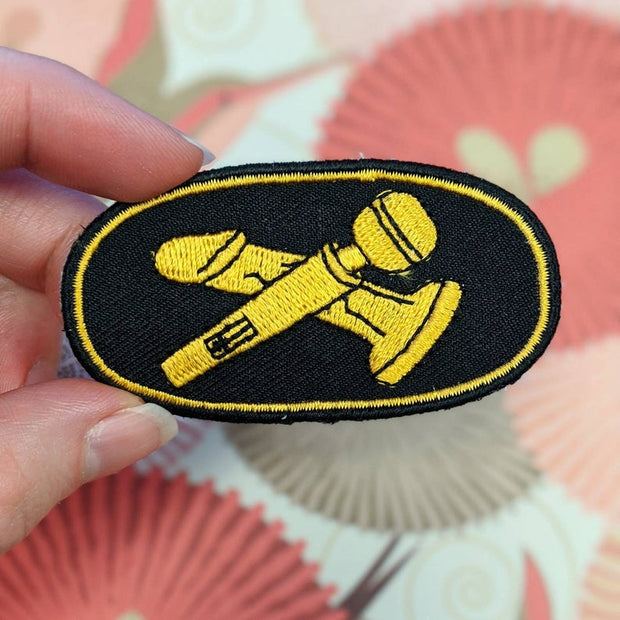 Sex Toy Cavalry patch iron-on patch 1
