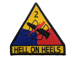 Hell on Heels sew-on patch