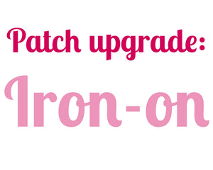 Patch Upgrade: Iron-on