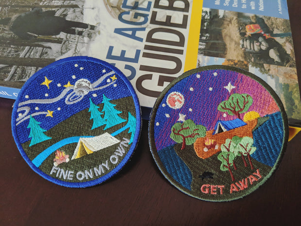 Get Away sew-on patch 1
