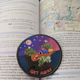Get Away sew-on patch