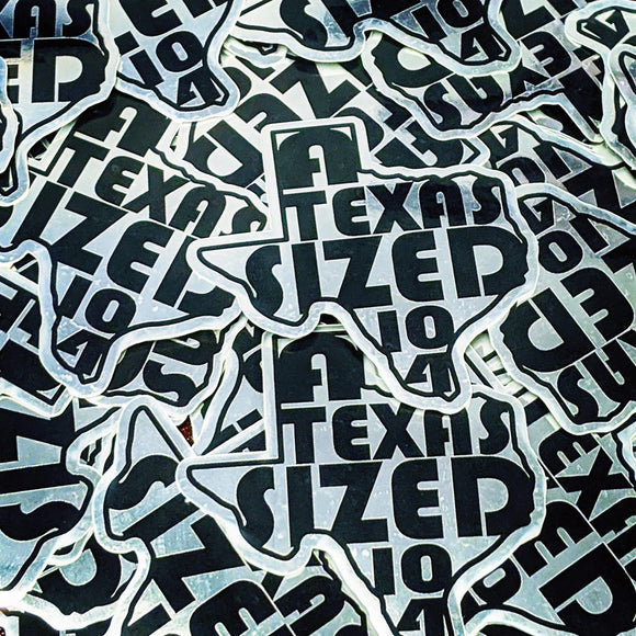 A Texas-sized 10-4 sticker