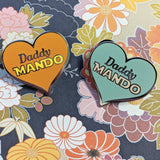 SECONDS: Daddy Mando hard enamel pin (The Child version)