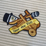 Yeet the Capitalists sew-on patch (small version)