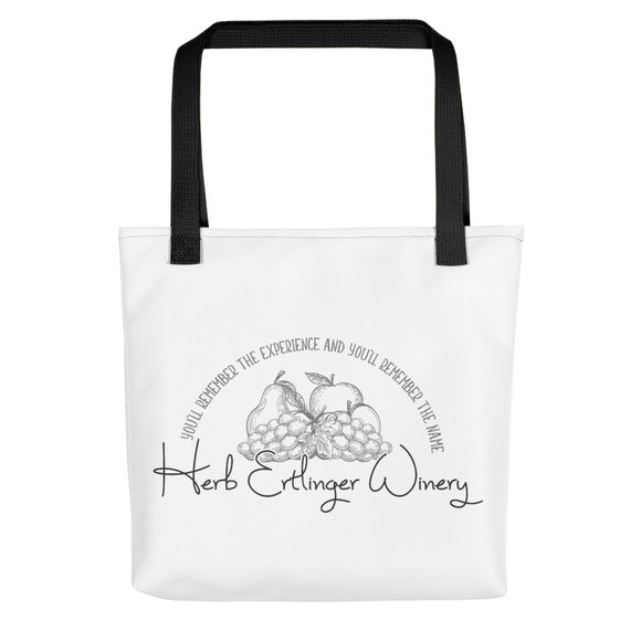 Herb Ertlinger Winery tote bag