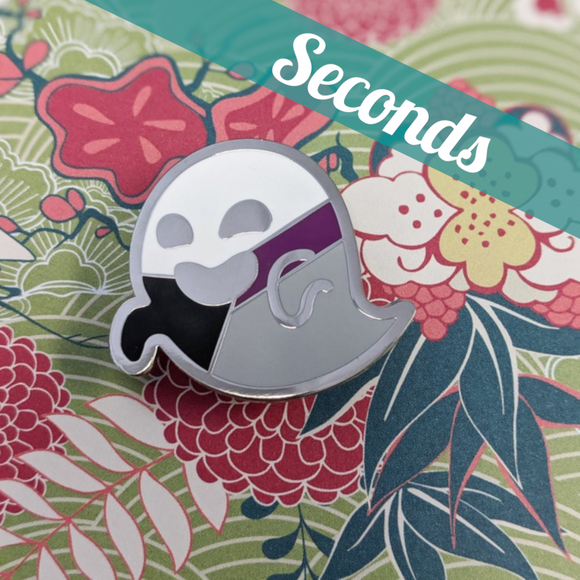 Demifestation (demisexual pride) hard enamel pin – SECONDS