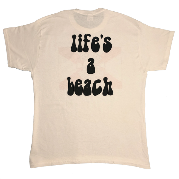 Life's a Beach New Flag Logo Shirt