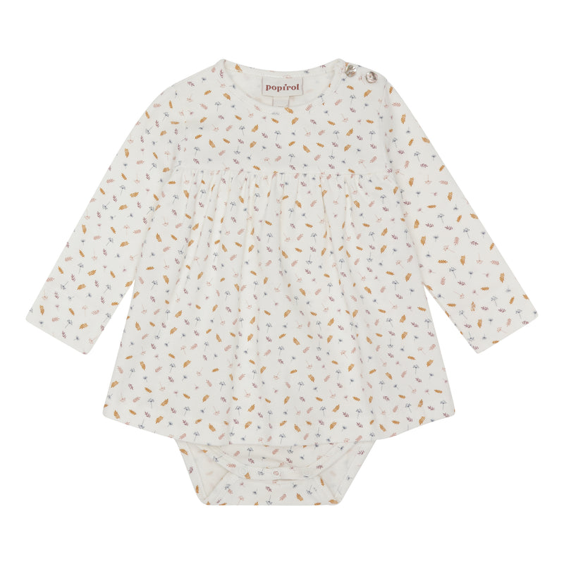 Isa Baby Body Dress - Offwhite