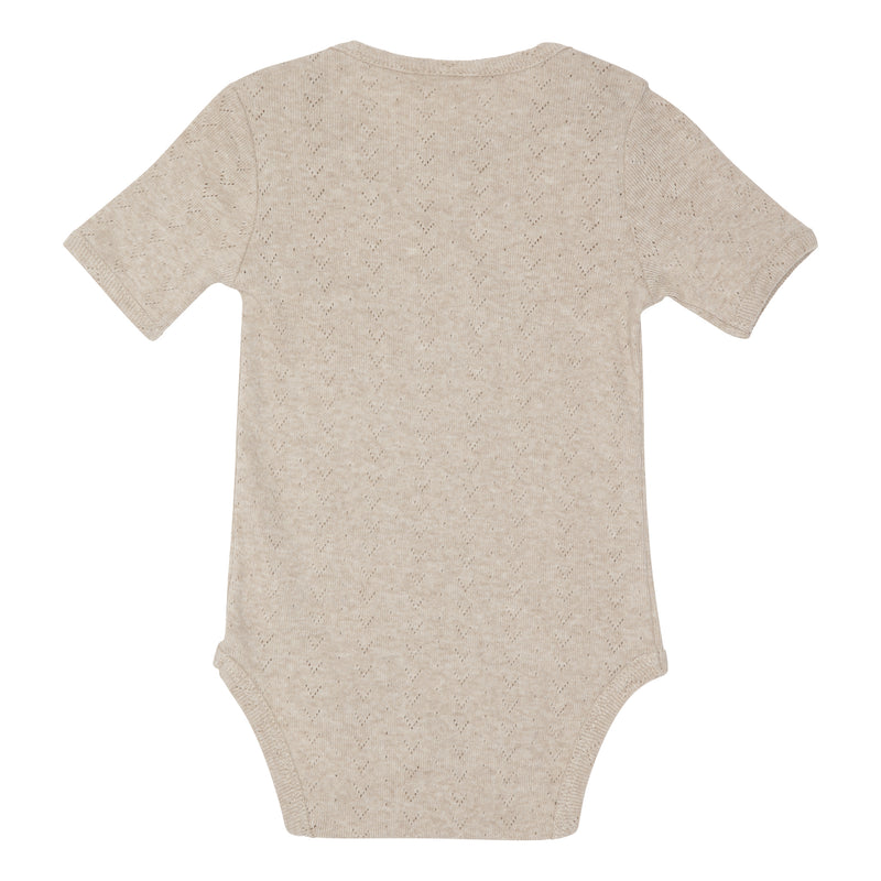 Anine Baby Body - Brown melange