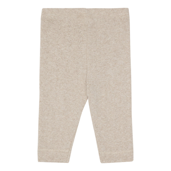 Laia Baby Leggings - Brown melange