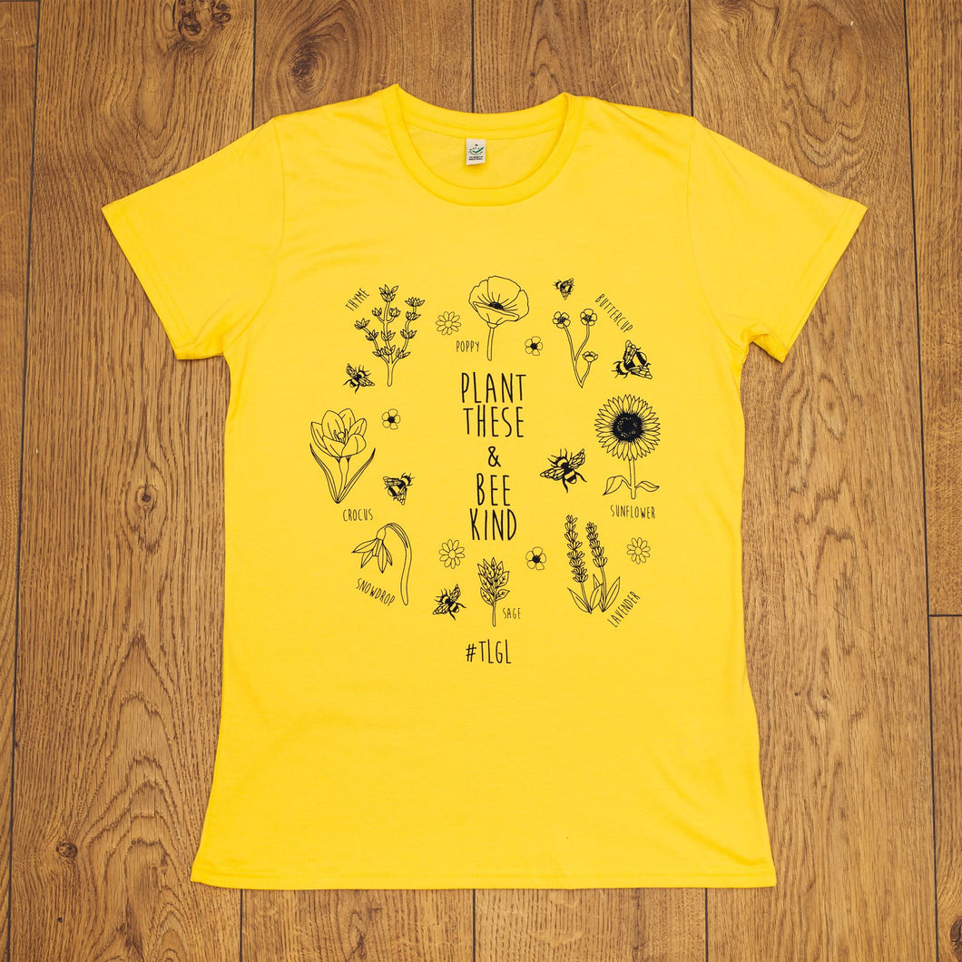 #TLGL Bee Kind T Shirt Slim Fit