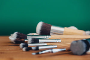 Bamboo Make Up Brush Set
