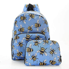 Load image into Gallery viewer, Bee Recycled Mini Backpack