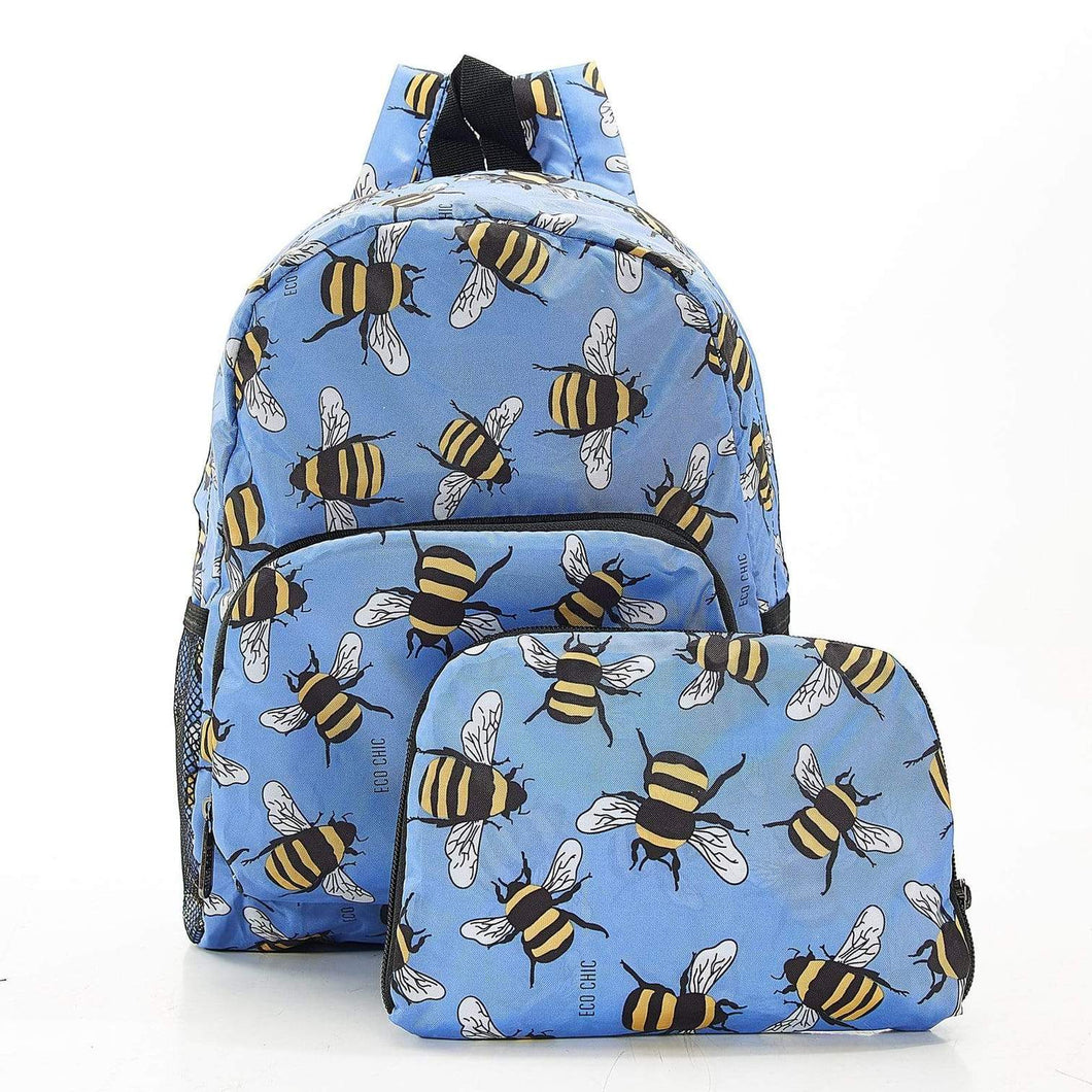 Bee Recycled Mini Backpack