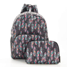 Load image into Gallery viewer, Feather Recycled Foldable Backpack