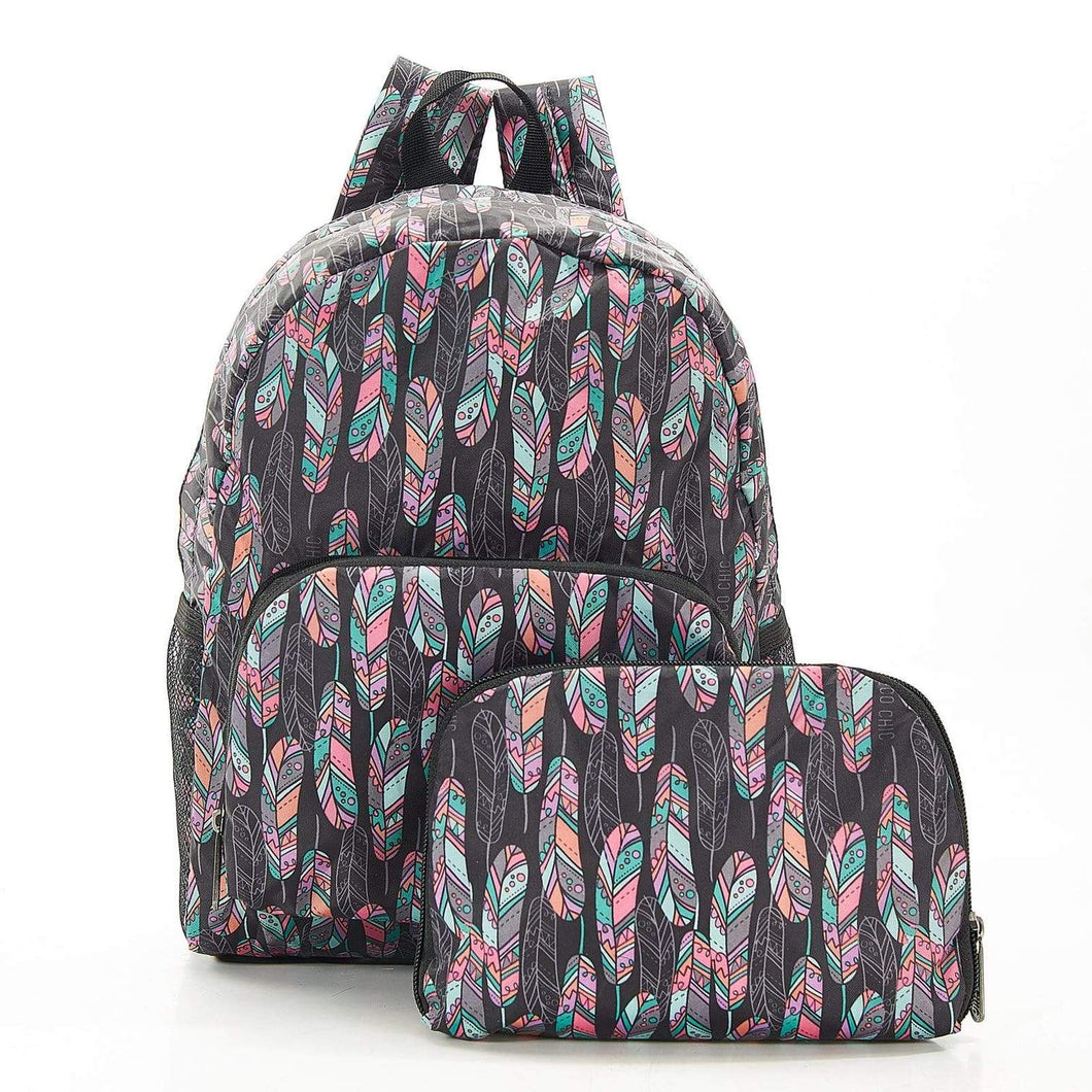 Feather Recycled Foldable Backpack