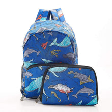 Load image into Gallery viewer, Sea Creature Recycled Mini Backpack