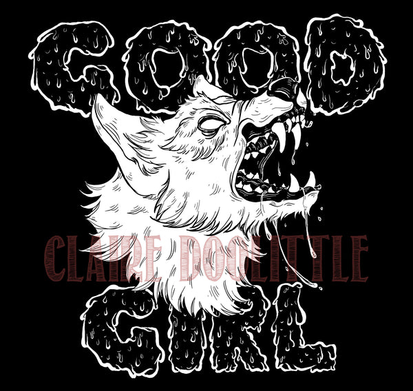 Good Girl Women's Cropped Hoodie