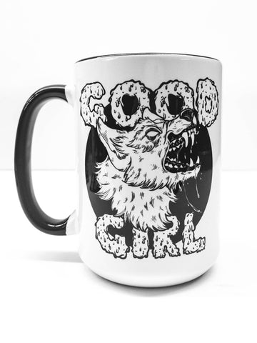 Good Girl 15oz Large Ceramic Mug