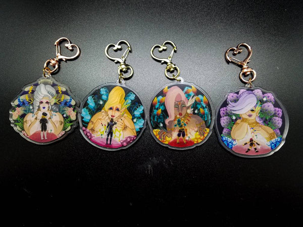 BOTW Great Fairy Acrylic Charms