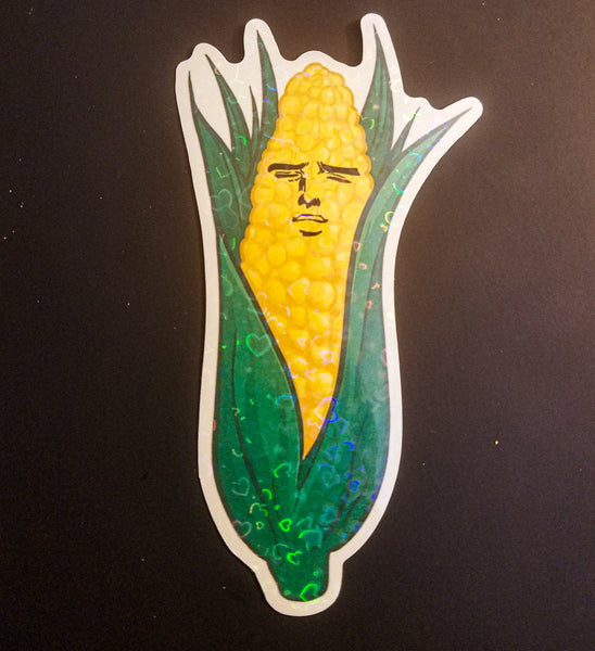 Yaoi Corn Sticker Large